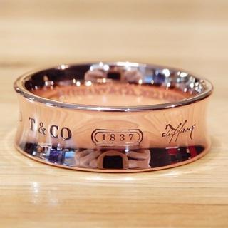 ティファニー(Tiffany & Co.)の超美品 ティファニー 1837 リング 指輪 ローズゴールド(リング(指輪))