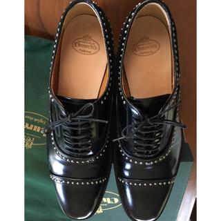 チャーチ(Church's)のありす様専用★Church'sスタッズレースアップシューズ(ローファー/革靴)