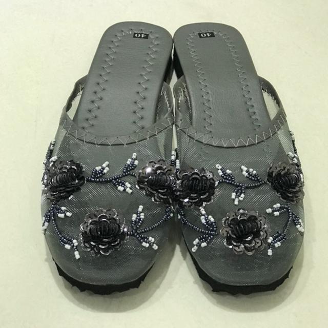 ❤︎ホワイト、グレー、シルバー、ブラウン、ブラック❤︎ベトナムメッシュサンダル  レディースの靴/シューズ(サンダル)の商品写真