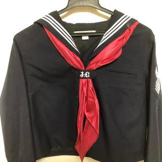 三越 - 私立女子学院中高 冬服制服 Lサイズ 赤スカーフ付き