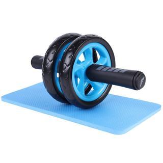 腹筋ローラー エクササイズローラー 膝を保護するマット付き