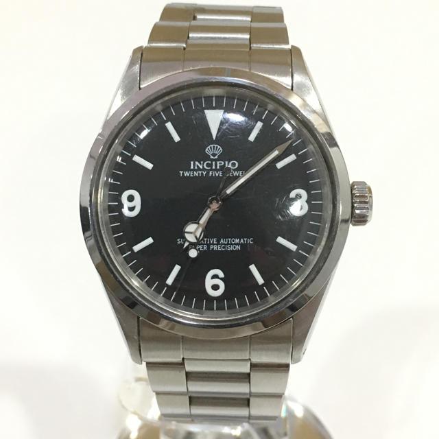 ROLEX - INCIPIO インキピオ メンズ 腕時計の通販 by GOLD|ロレックスならラクマ