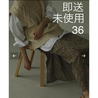 TODAYFUL - 未使用・ジャガード織りパンツ