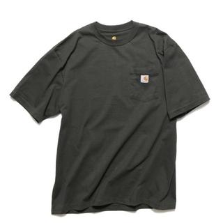 carhartt - carhartt カーハート ビッグシルエット ポケット半袖 ロゴ Tシャツ