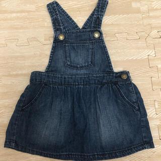 babyGAP - ベビーギャップ  デニムジャンパースカート
