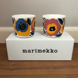 marimekko - マリメッコ ラテマグ2個セット ロサリウム おまけ付き