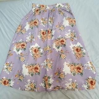 ViS - 花柄スカート