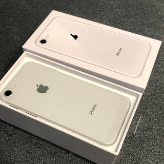 iPhone - SIMロック解除済 iPhone8 silver 64GB 新品未使用