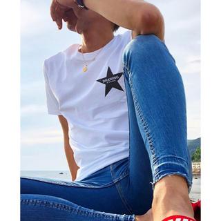 ロンハーマン(Ron Herman)のDrawing STAR Tシャツ スター ロンハーマン サンローランパリ M(Tシャツ/カットソー(半袖/袖なし))