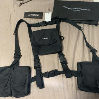 AMBUSH - A-WENDE Pocket belt bag