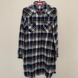 ヴィス(ViS)の美品✿ViS チェックシャツ(シャツ/ブラウス(長袖/七分))