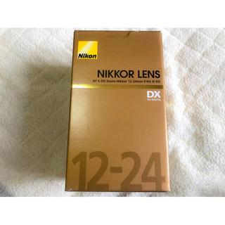 Nikon - 未使用品 AF-S DX Nikkor 12-24mm f/4G IF-ED
