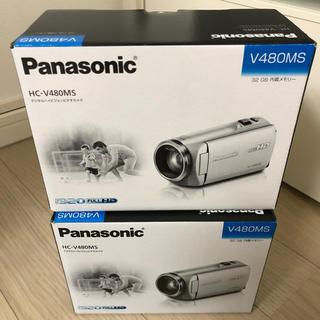 Panasonic - パナソニック ビデオカメラ HC-V480MS 2台 新品