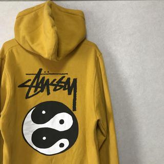 STUSSY - STUSSY Yin Yang hoodie USA製