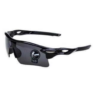 新品 スポーツサングラス 黒×黒