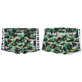 A BATHING APE - bape arena box swim wear
