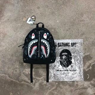 A BATHING APE - BAPE 19ss Space camo shark backpack