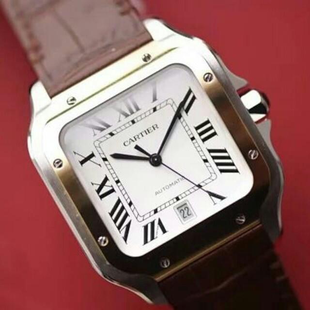 シャネル バッグ 販売店 、 Cartier - カルティエサントス100LMW20076X8自動巻メンズ腕時計 の通販 by rowhi797's shop|カルティエならラクマ