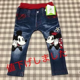 Disney - ディズニー ダメージ加工 ミッキー ミニー 80