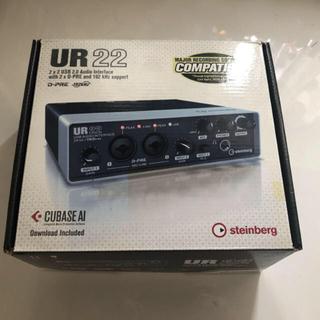 ヤマハ オーディオインターフェイス UR22 新品HDMIケーブル付