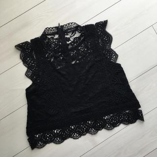 しまむら - BLACK♡レーストップス