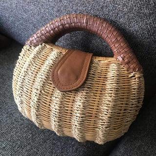 イエナ(IENA)のienaで買ったカゴバッグ(かごバッグ/ストローバッグ)