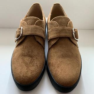 メルロー(merlot)のモンクストラップシューズ(ローファー/革靴)