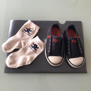 ラルフローレン(Ralph Lauren)のラルフローレン スニーカー&靴下 セット(スニーカー)