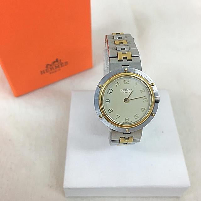 Hermes - 正規品 HERMES エルメス 腕時計 送料込みの通販 by toshio's shop|エルメスならラクマ