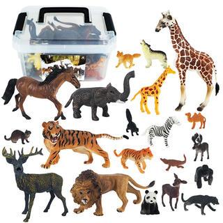 ❤️ 新品 送料込み ❤️   動物の子供用おもちゃ 収納ボックス付き