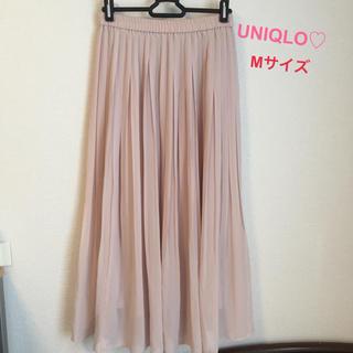 UNIQLO - 8/25まで値下げ♡ユニクロ♡UNIQLO♡スカート♡シフォン♡プリーツ