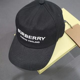 BURBERRY - 男女兼用 BURBERRY バーバリー 帽子 キャップ ブラック