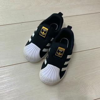adidas - adidas  キッズ スニーカー スリッポン スーパースター
