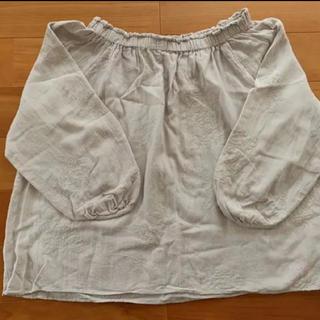STUDIO CLIP - 七分袖刺繍ブラウス