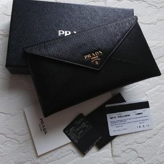 PRADA - 【極上美品】PRADAプラダ長財布
