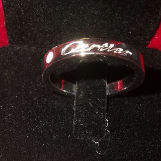 カルティエ(Cartier)の超美品!Cartier リング(指輪)✿ シルバー 刻印  USA 6(リング(指輪))