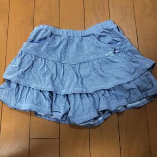 mikihouse - ミキハウスのキュロット スカート 110 美品
