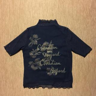 クリスチャンオジャール(CHRISTIAN AUJARD)のクリスチャンオジャール メッシュ重ねプルオーバー 訳あり(Tシャツ(半袖/袖なし))