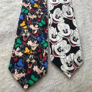 Disney - レトロなディズニーキャラクターのネクタイ。