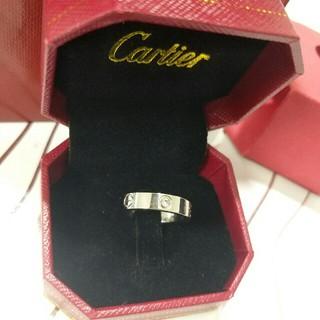 カルティエ(Cartier)の超美品 Cartier レディース リング 指輪 新品 刻印(リング(指輪))