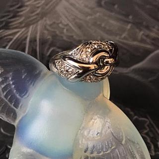 ブルガリ(BVLGARI)のブルガリの上質でパヴェダイヤがとても上品で素敵な指輪(リング(指輪))