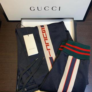 Gucci - 【新品】GUCCI グッチ スウェットパンツ ジャージ S 【定価9.7万】