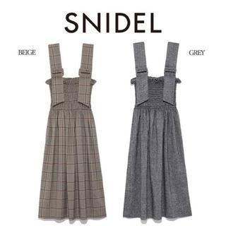snidel - スナイデル ハイウエストシャーリングスカート
