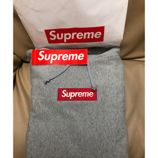 Supreme - Supreme ボックスロゴパーカーグレー