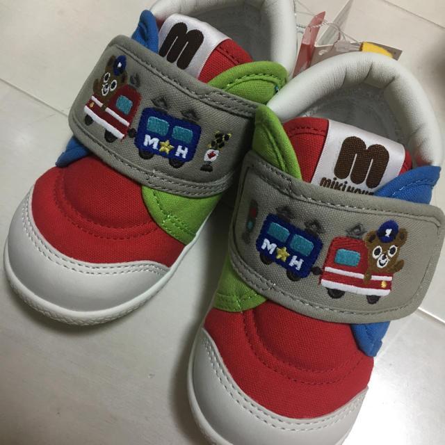 mikihouse(ミキハウス)のミキハウス 靴 シューズ 14cm キッズ/ベビー/マタニティのベビー靴/シューズ(~14cm)(スニーカー)の商品写真