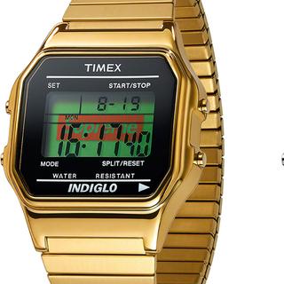 シュプリーム(Supreme)のSupreme® Timex® Digital Watch ゴールド金(腕時計(デジタル))