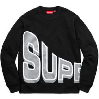 Supreme - supreme side arc crew neck 18ss 19aw