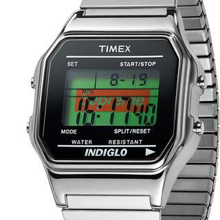 シュプリーム(Supreme)のSupreme® Timex® Digital Watch シルバー銀(腕時計(デジタル))