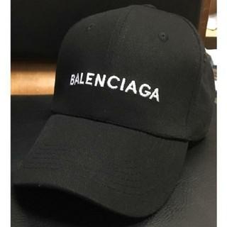 Balenciaga - 男女兼用 BALENCIAGA キャップ 黒
