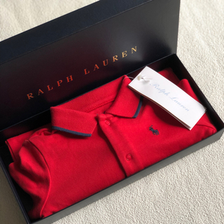 Ralph Lauren - 新品 ラルフローレン ロンパース 70㎝  赤
